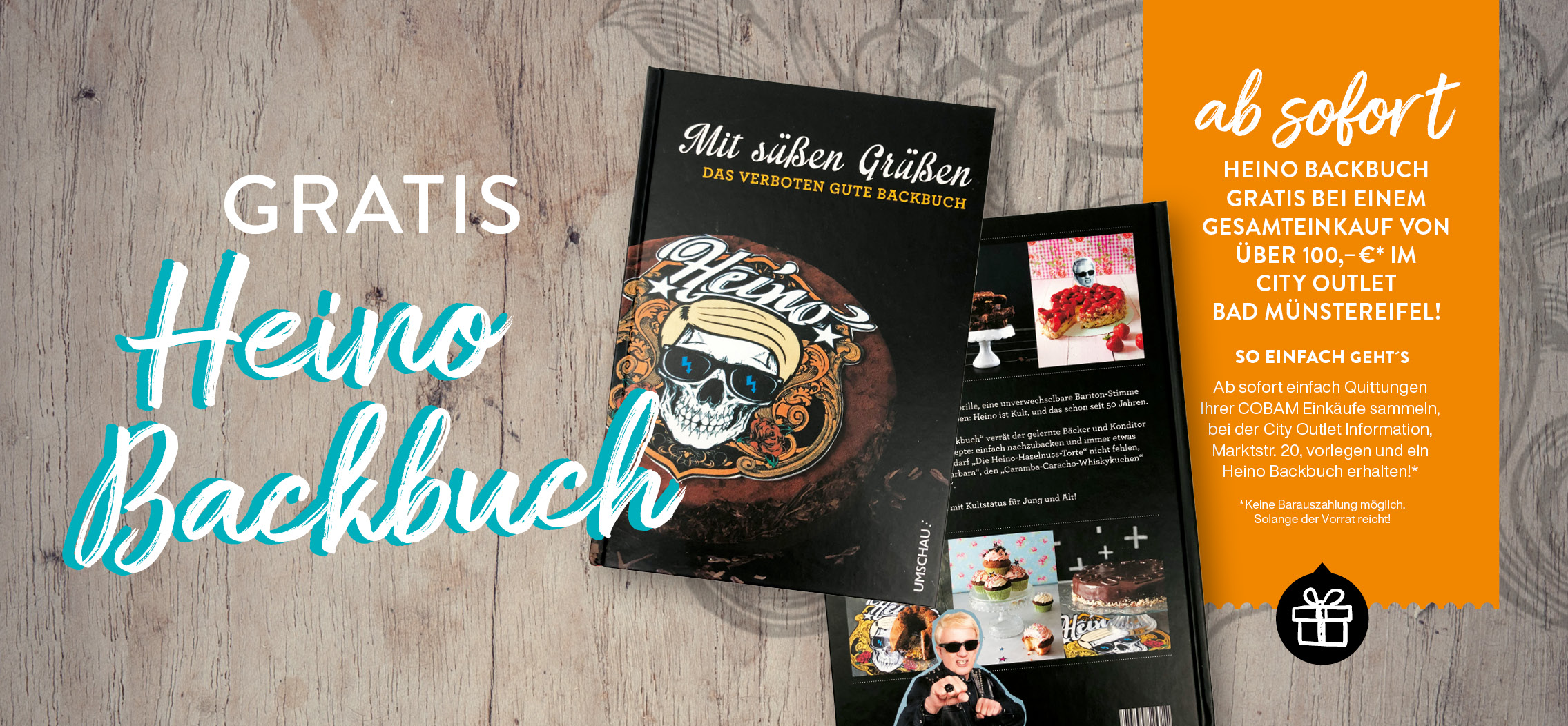 Backbuch Heino City Outlet